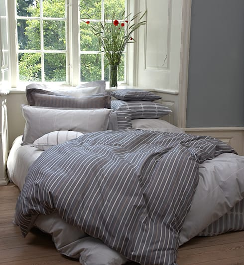 Cool Nordic Bedding Style:  Bedroom by TrueStuff