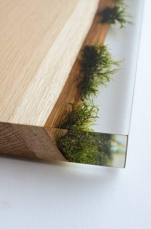 Undergrowth : Soggiorno in stile in stile Eclettico di Alcarol
