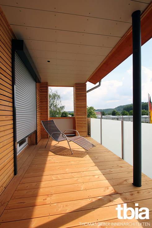 Balkon:  Terrasse von tbia - Thomas Bieber InnenArchitekten