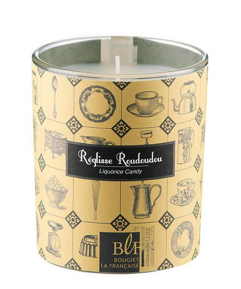 Bougie parfumée gourmande réglisse roudoudou: Salon de style de style eclectique par Bougies la Française
