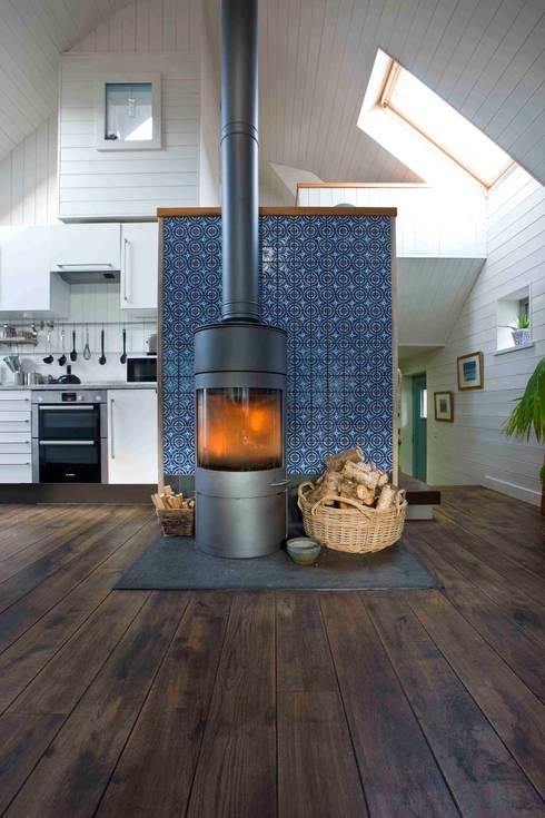 Projekty,  Salon zaprojektowane przez Coast2Coast Architects