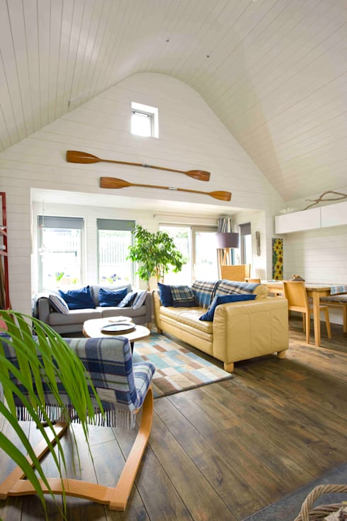 Living Room: scandinavian Living room by Coast2Coast Architects
