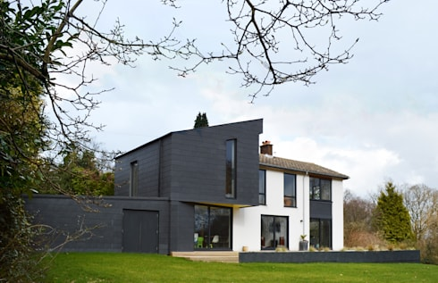 Refurbished & Extended 1960s house in Haslemere, Surrey by ArchitectureLIVE:   by ArchitectureLIVE