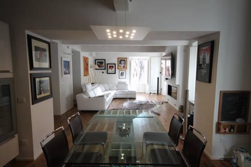 Appartamento con vista di studio bfg homify for Metraggio di appartamento studio