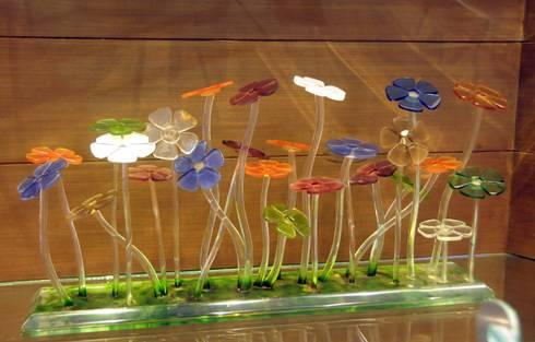 glass flowers:  Artwork by atlantic designer glass
