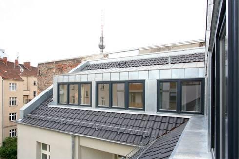 umbau und dachgeschossausbau wohn- und geschäftshaus alte, Hause ideen