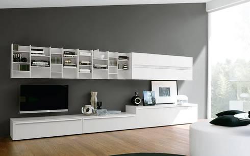 Perfekt Salon De Style De Style Moderne Par Wohnstation