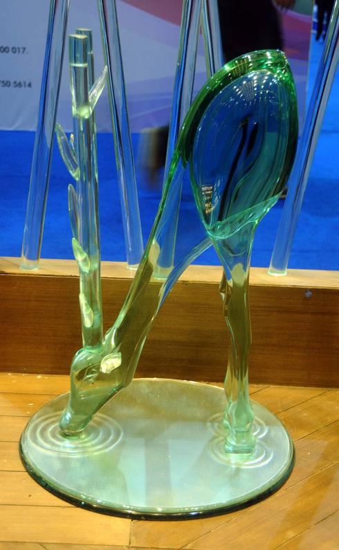glass deer :  Artwork by atlantic designer glass