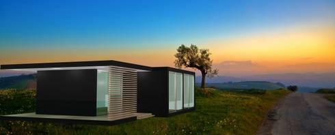 Estudo Modular Tipo T2: Casas modernas por Idealiving