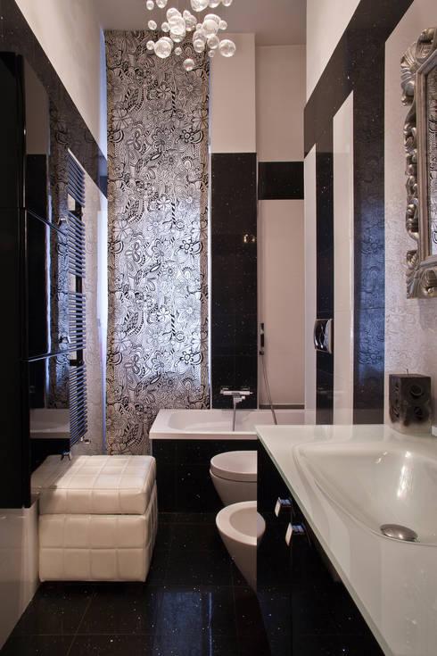 Baños de estilo  por Alessandro Multari Ingegnere - I AM puro ingegno italiano