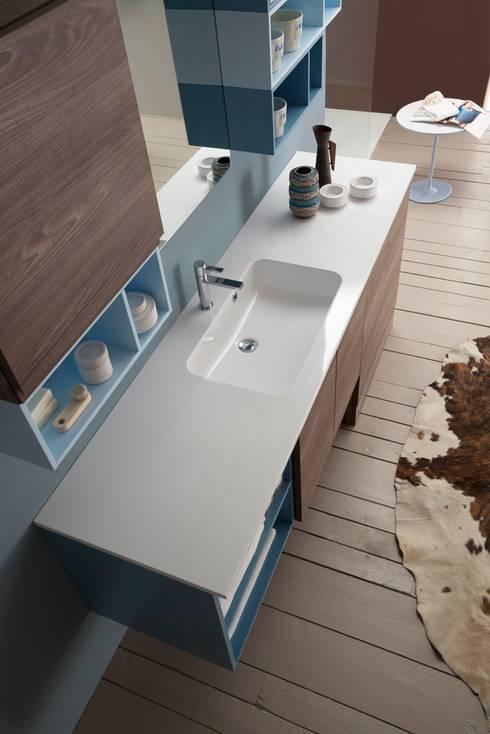 RAB ARREDO BAGNOが手掛けた洗面所&風呂&トイレ