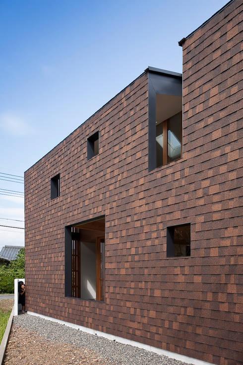 外の部屋のある処: g_FACTORY 建築設計事務所が手掛けたです。