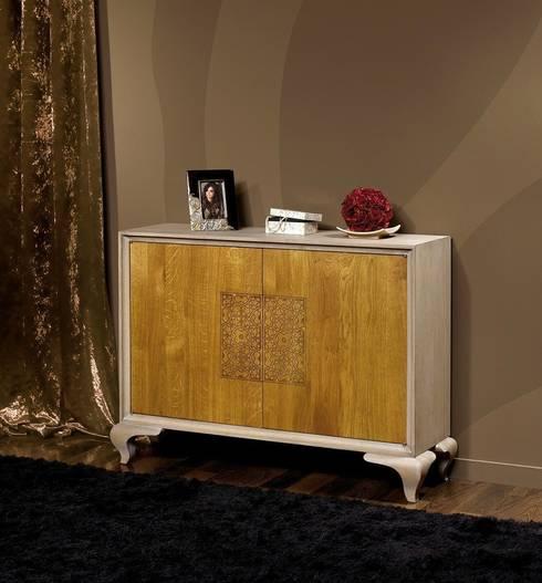 Mueble de Entrada Bladi: Vestíbulos, pasillos y escaleras de estilo  de Paco Escrivá Muebles