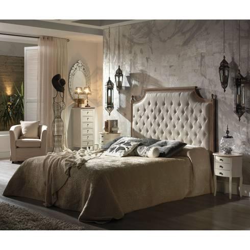 Dormitorio romantico de muebles la toskana homify for Muebles la toskana chiclana