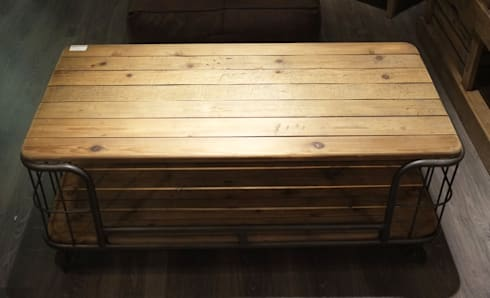 Reclaimed Oak Coffee Table:   by Cambrewood