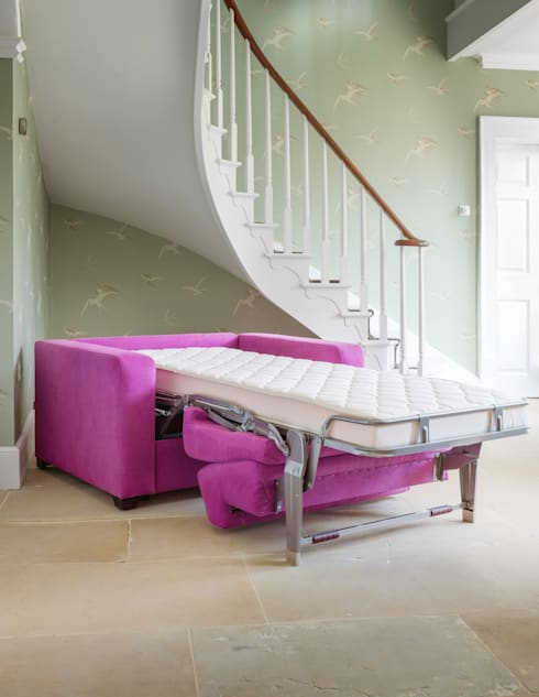 THE STORAGE BED: modern tarz Oturma Odası
