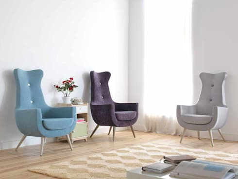 EROS: Salones de estilo mediterráneo de Gallega Design