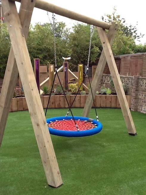 Jardín de estilo  de Timotay Playscapes
