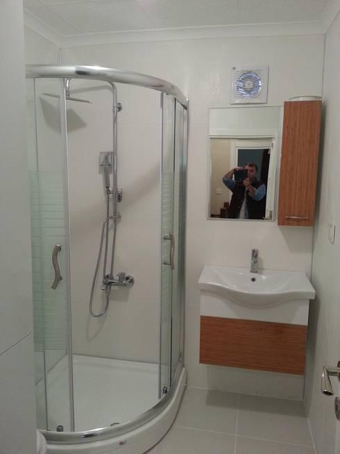 ห้องน้ำ by EDMİMARLIK INTERIOR STUDIO