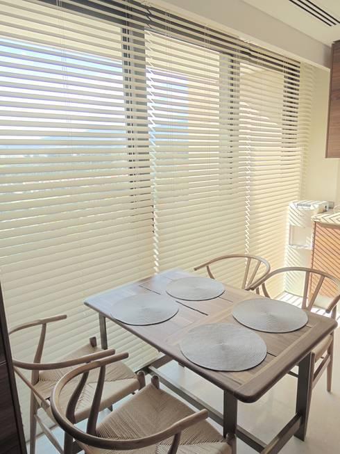 Visage Home Style – A project in İzmir, Turkiye. (Kitchen)  - İzmir'de uygulaması bize ait bir projenin mutfağından bir kare.:  tarz Yemek Odası