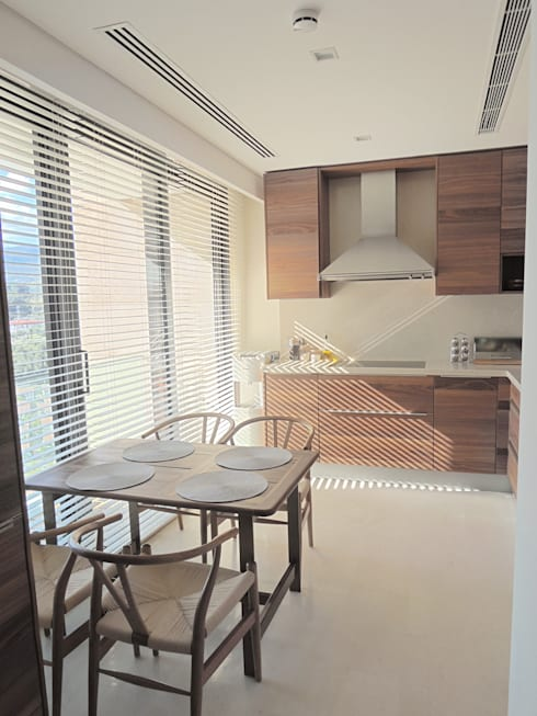 Visage Home Style – A project in İzmir, Turkiye. (kitchen)   - İzmir'de uygulaması bize ait bir projenin mutfağından bir kare.:  tarz Mutfak