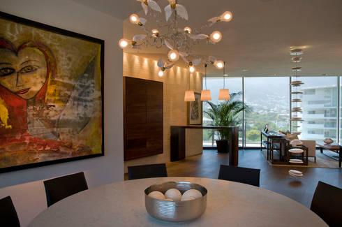 Departamento RQM: Casas de estilo  por Lopez Duplan Arquitectos
