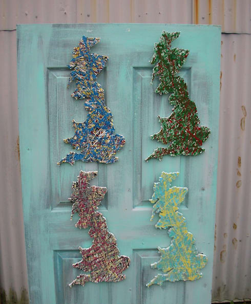 Multi-Coloured Britain:  Artwork by DesignRealisation