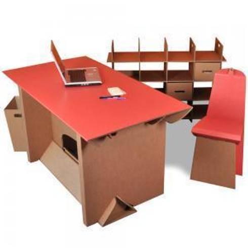 Mobiliario de cart n de serisan homify for Definicion de mobiliario