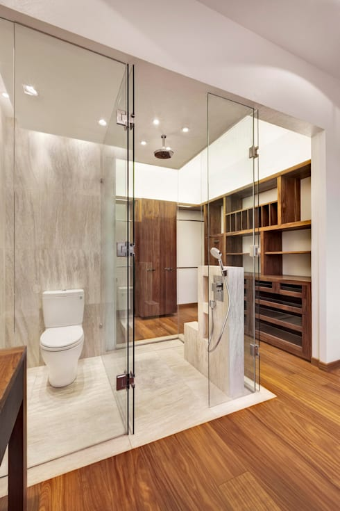 Bathroom by Lopez Duplan Arquitectos
