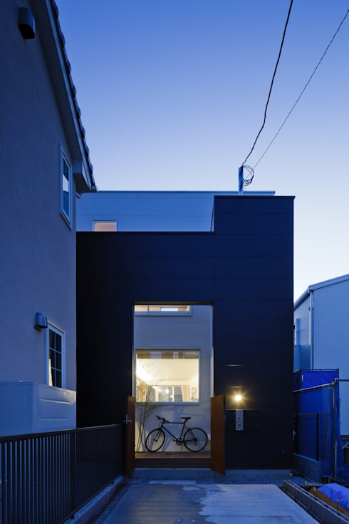 Projekty,  Domy zaprojektowane przez 津野建築設計室/troom