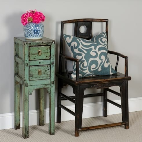 Chinese Elm Chair. c.1860 Shanxi Province: asian Dining room by Orchid