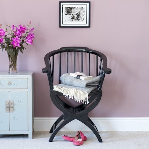 Black Lacquer Horn Chair : asian Dining room by Orchid