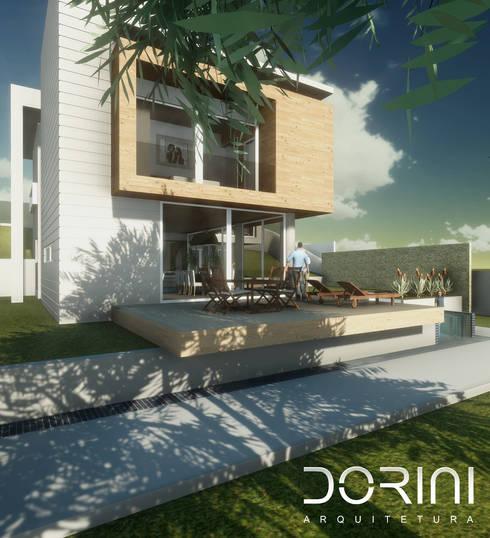 CASA FV: Casa  por Dorini Arquitetura Ltda
