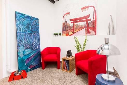 Casa Granja Julieta:   por Cristiane Bergesch Arquitetura e Interiores