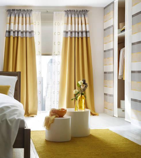 Gardinen, Sonnenschutz, Plissee - LivingReet:  Wohnzimmer von UNLAND International GmbH