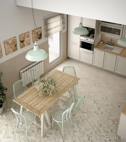 mediterrane Häuser von Equipe Ceramicas
