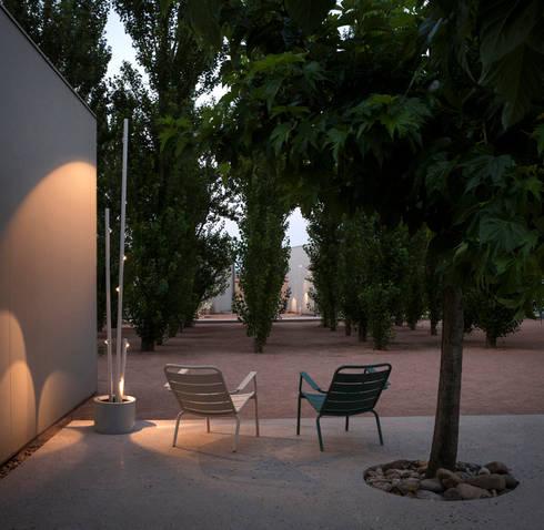 Bamboo: Jardín de estilo  de Estudi Antoni Arola