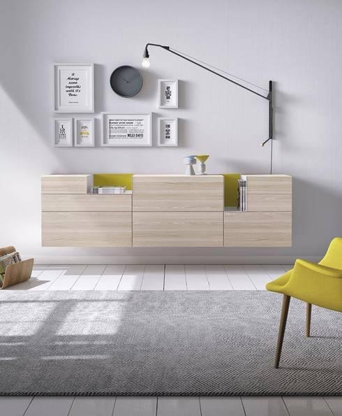 Aparador moderno : Salones de estilo moderno de Muebles Capsir