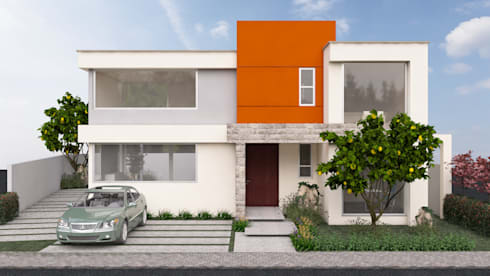 TU CASA LLENA DE LUZ : Casas de estilo moderno por SPAZIA