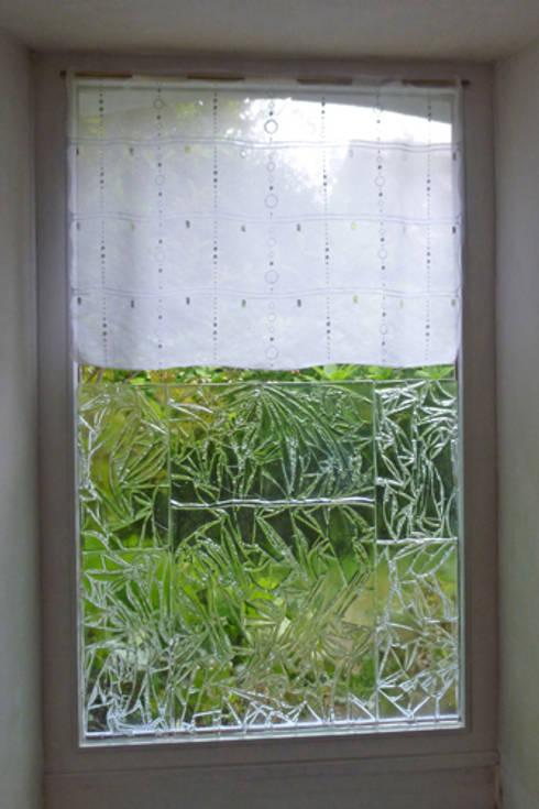 Fenêtre: Fenêtres & Portes de style  par Atelier du verre