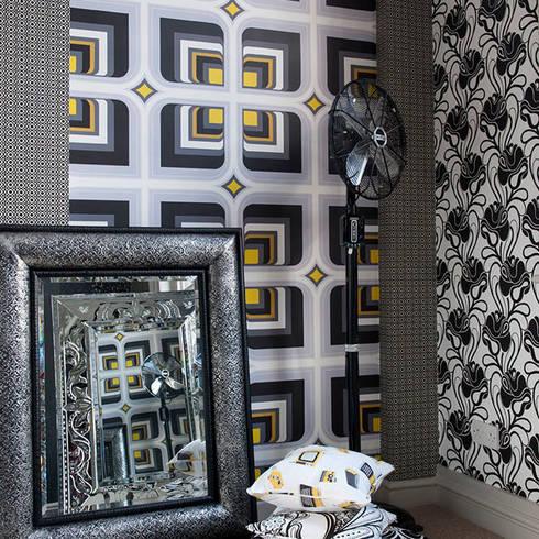 Soul Survivor and Elsie Wallpaper:  Walls & flooring by Gill Nono