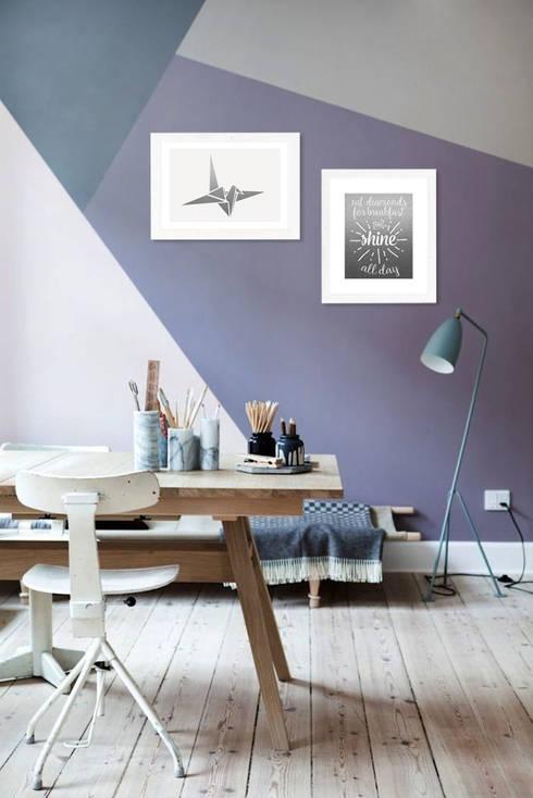 Projekty,  Ściany i podłogi zaprojektowane przez Clotilde
