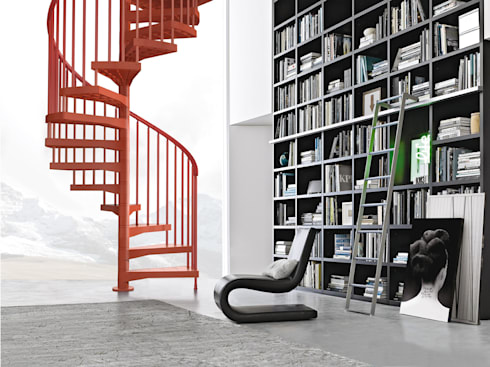 Techne:  Corridor, hallway & stairs by Fontanot