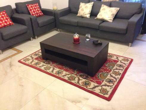 Handmade World Mumbai Home Interior Project:  Multimedia room by Indus Shanti Carpets India Pvt Ltd