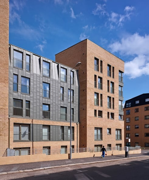 Argyle Street/ Shaftsbury Place: modern Houses by Collective Architecture Ltd