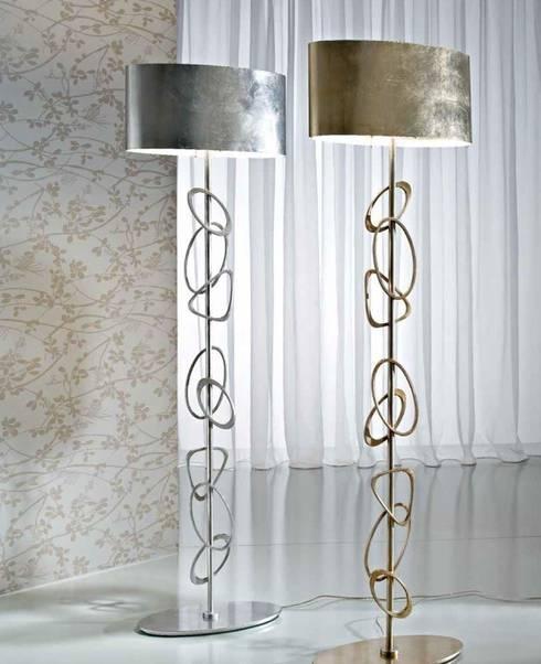 Salas de estilo  por Ámbar Muebles