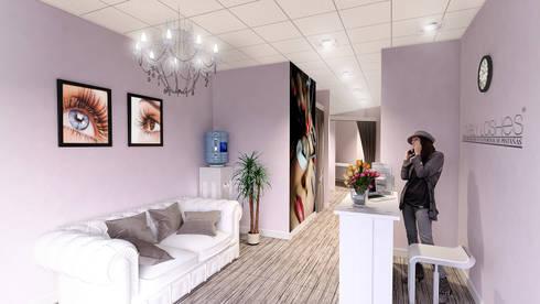 Salón de belleza 3D:  de estilo  de Icaras 3D
