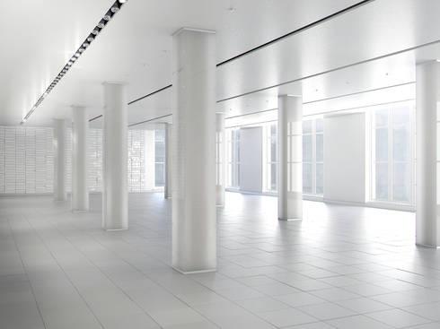 Espacio 3D para oficinas (Diurno):  de estilo  de Icaras 3D