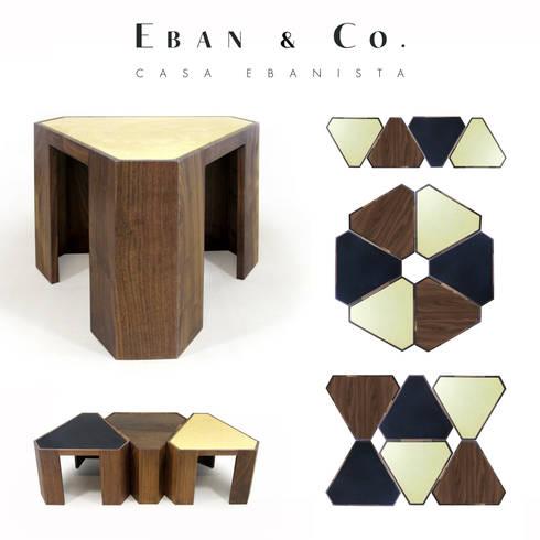 OTO: Salas de estilo moderno por Eban & Co.