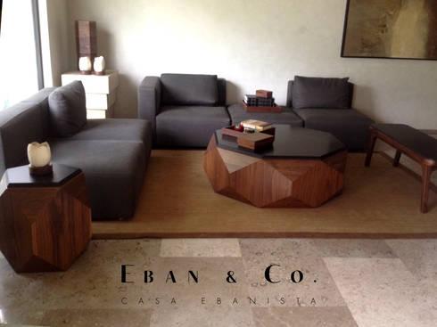 LOBELIA : Salas de estilo moderno por Eban & Co.